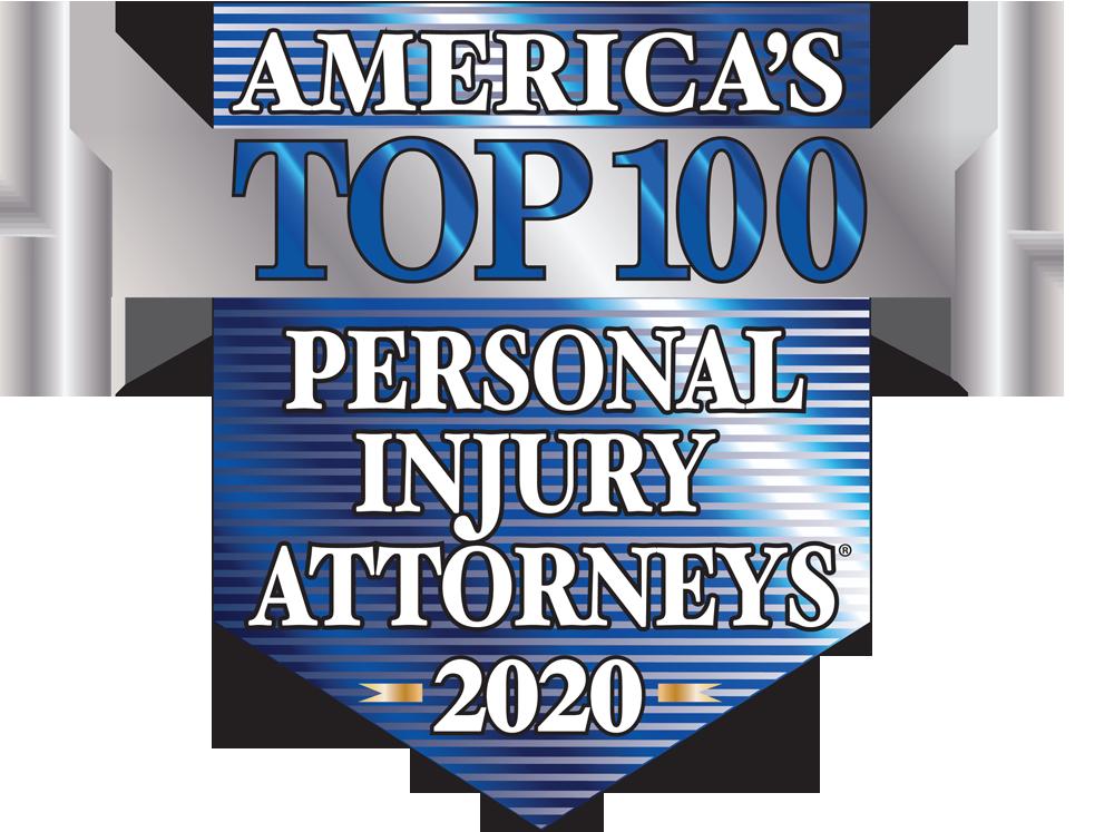 America's Top 100 Personal Injury Attorneys 2020® Recipient Award